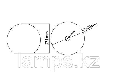 Люстра подвесная ART 100B/CHROME , фото 2