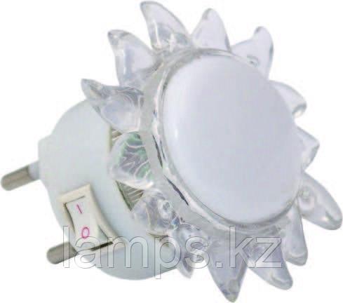 Ночной светодиодный светильник, ночник SUN/4xRLED/WHT/220V/EU.PLUG