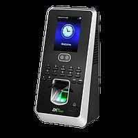Биометрический терминал учета рабочего времени и контроля доступа ZKTeco MultiBio 800, фото 1