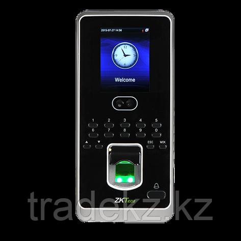 Биометрический терминал учета рабочего времени и контроля доступа ZKTeco MultiBio 800, фото 2