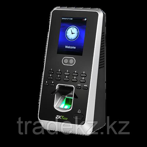 Биометрический терминал учета рабочего времени и контроля доступа ZKTeco MultiBio 800 MF, фото 2