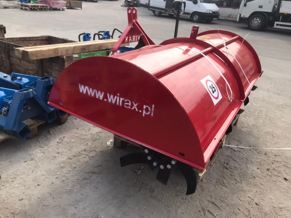 Почвофреза роторная 2,1м Wirax Польша,навесная