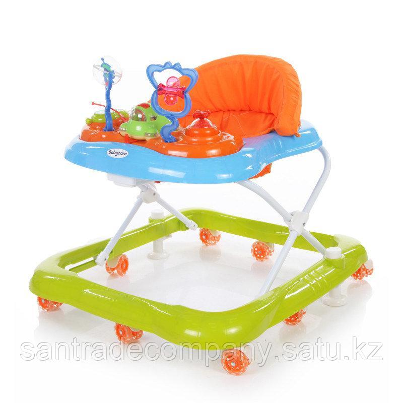 Ходунки Baby Care Mario,цвет(синий/зеленый)