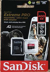 Micro SDXC Sandisk Extreme Pro  400GB  170MB/S  UHS-I  U3