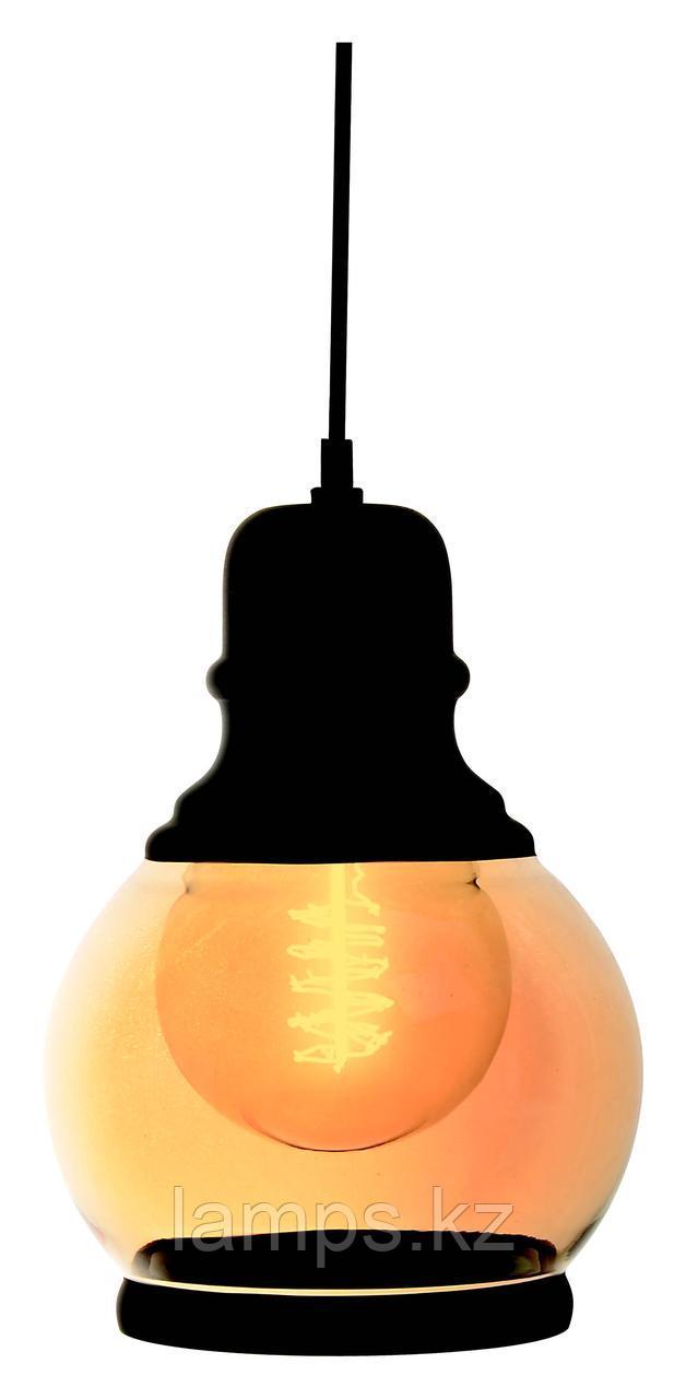 Люстра подвесная ART.2412/1xE27/MAT.BLC-E.GLD/220V