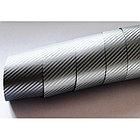 """Виниловая пленка под """"Карбон"""" графит (темно-серая) 1,52 м., фото 2"""