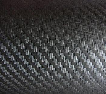 """Виниловая пленка 3D под """"Карбон"""" черная (крупная ячейка) 1,52 м."""