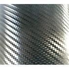 """Виниловая пленка 3D под """"Карбон"""" черная (структура Hexis) 1,52 м., фото 3"""
