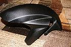 """Виниловая пленка 3D под """"Карбон"""" черная (структура Hexis) 1,52 м., фото 4"""