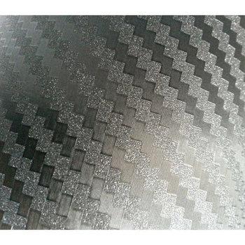 """Виниловая пленка 3D под """"Карбон"""" черная (с алмазной крошкой) 1,52 м."""