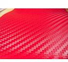 """Виниловая пленка 3D под """"Карбон"""" красная 1.52 м., фото 2"""