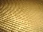 """Виниловая пленка 3D под """"Карбон"""" золотая 1.52 м, фото 4"""