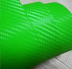 """Виниловая пленка 3D под """"Карбон"""" зеленая (салатовая) 1,52 м., фото 2"""