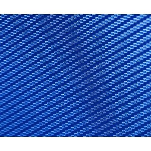 """Виниловая пленка 3D под """"Карбон"""" синий 1,52 м."""