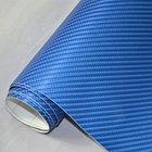 """Виниловая пленка 3D под """"Карбон"""" синий 1,52 м., фото 2"""