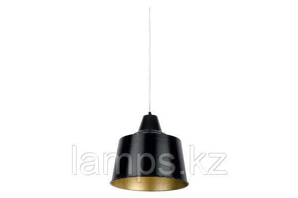 Люстра подвесная RIND-2/1xE27/MAT.BLACK/Ø300MM
