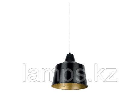 Люстра подвесная RIND-2/1xE27/MAT.BLACK/Ø300MM , фото 2