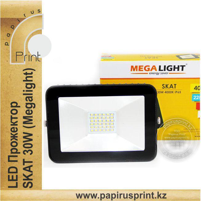 Светодиодный прожектор 30W LED софит Skat Megilight