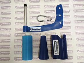 Ручка для армрестлинга с тремя насадками (конус, цилиндр и насадка-эксцентрик)