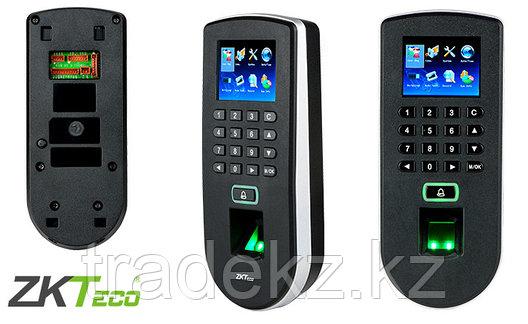 Биометрический терминал для идентификации по отпечаткам пальцев ZKTeco F19, фото 2