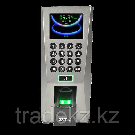 Биометрический терминал для идентификации по отпечаткам пальцев ZKTeco F18, фото 2