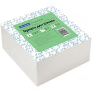 Блок для записи OfficeSpace 9*9*4.5 см, белый, белизна 70-80 %,