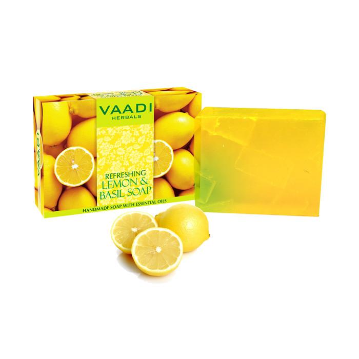 Освежающее мыло с лимоном и базиликом - фото 1