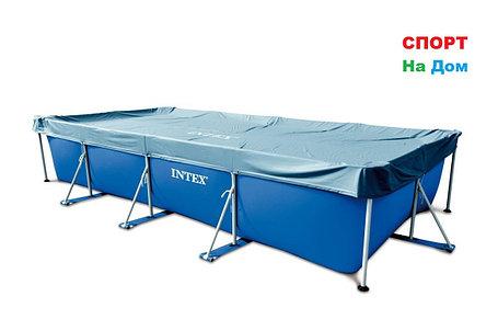 Прямоугольный тент для каркасного бассейна Intex 28039 (450 х 220 см), фото 2