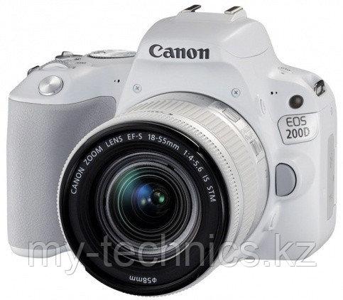 Canon EOS 200D kit 18-55mm f/3.5-5.6 IS STM (White)