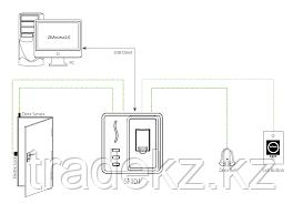 Биометрический терминал контроля доступа ZKTeco SF101, фото 2