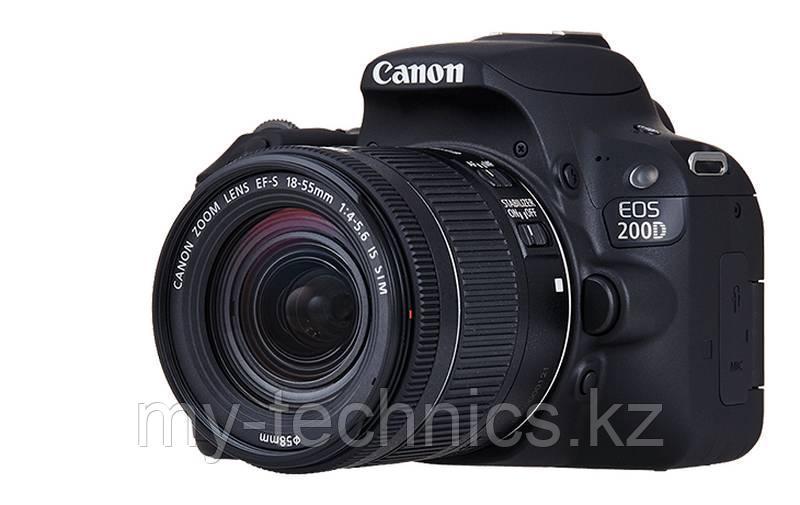 Canon EOS 200D kit 18-55mm f/3.5-5.6 IS STM (Black)