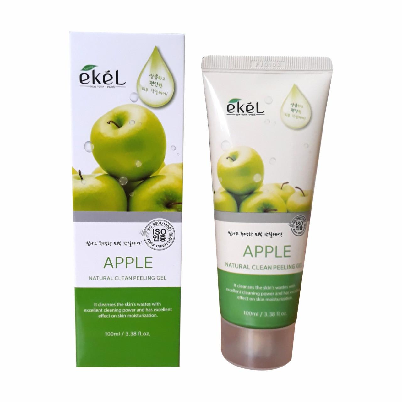 Ekel Natural Clean Peeling Gel Apple Пилинг-Скатка с Экстрактом Зеленого Яблока 100гр.
