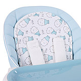 Стульчик для кормления Happy Baby Berny Blue, фото 5