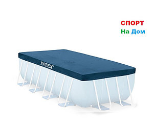 Тент – чехол для каркасного бассейна INTEX 28037 (389 х 184 см), фото 2