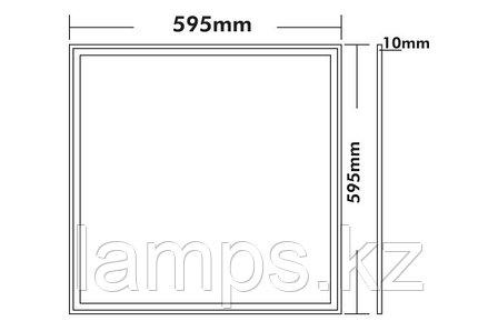 Светодиодная панель VENUS-II/595X595/40W/4000K/220V, фото 2