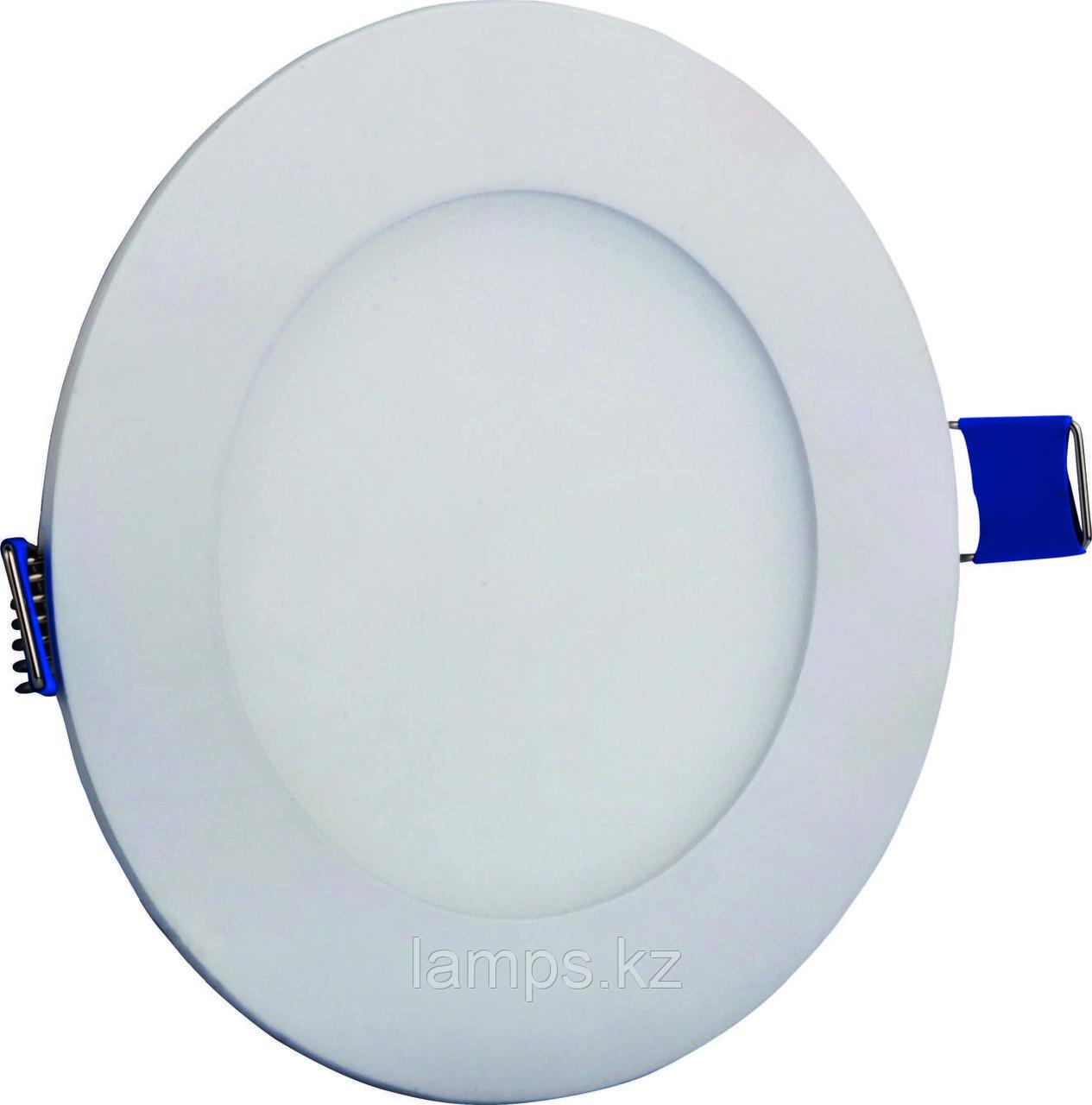 Светодиодная встраиваемая панель круглая LENA-RX/6W/SMD/6000K/Φ105MM/CBOX/LED PANEL