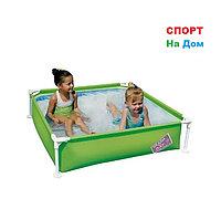 Детский каркасный бассейн Bestway 56217 (122 х 122 х 30,5 см на 407 литров)