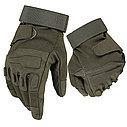 Тактические перчатки BLACKHAWK (палые, беспалые, с защитой костяшек) , фото 8