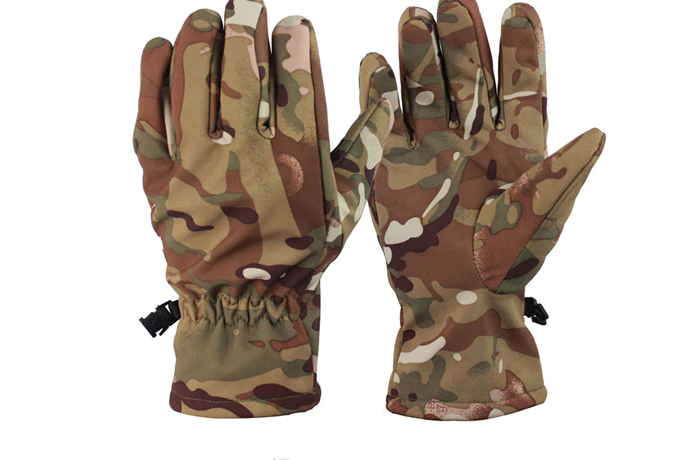 Перчатки тактические зимние камуфляж - фото 4