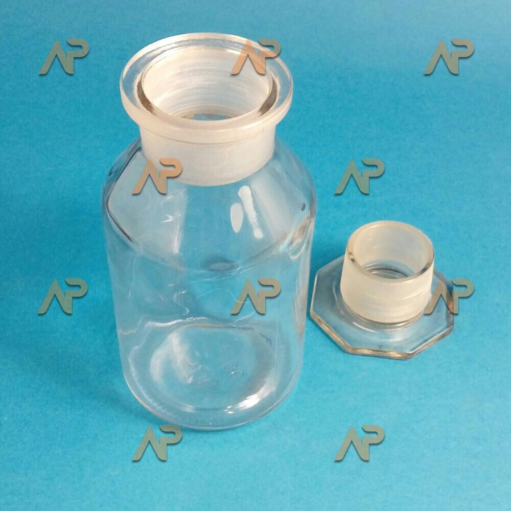 Склянка светлая 500 мл широкогорл. с пришлифованной пробкой(tgi)