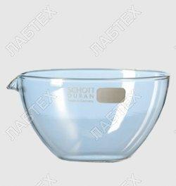Чашка выпарная чвп-1-480мл,120мм тс с носиком плоскодонная сферическая