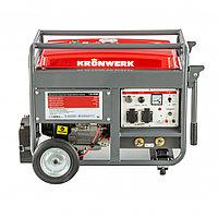 Бензиновая сварочная генераторная установка LK 210Е, 5.0 кВт, 220 В, бак 25 л, электростартер Kronwerk, фото 1