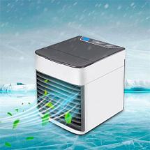 Охладитель воздуха  портативный ANTARCTIC AIR с RGB-подсветкой, фото 3