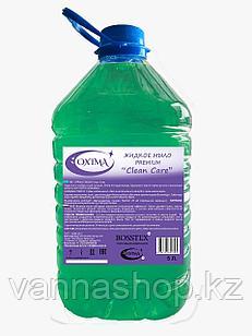 """Жидкое мыло 5 литров зеленый """"Clean care""""PREMIUM"""