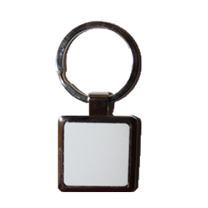 Брелок металлический квадрат