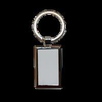 Брелок металлический прямоугольный