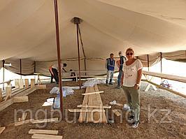 Палатка из брезента армейская