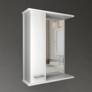Зеркало - шкаф навесное Water World Троя 60 см, одна дверь