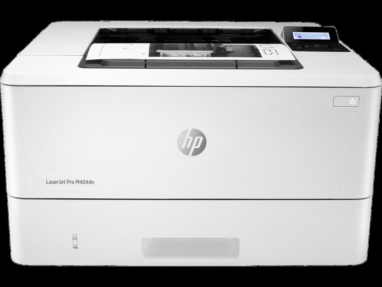 HP W1A53A Принтер лазерный черно-белый LaserJet Pro M404dn (A4)