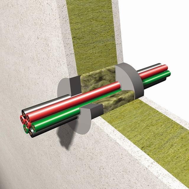 Огнезащита для кабеля и кабельных проходок